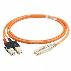 Cord, Fiber Patch, Duplex, LC to LC, 2M