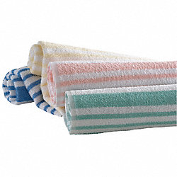 Pool Towel, Peach/White, 30x70, PK 12