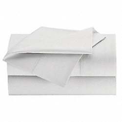 Fitted Sheet, King, 78x80 In., Pk 24