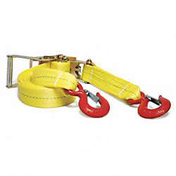 Tie-Down Strap, Ratchet, 16ft x 2In, 3670lb