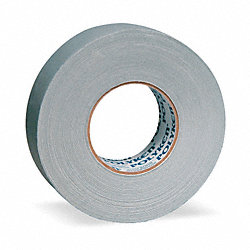 Gaffers Tape, 1.89 In x 60.1 yd., Silver