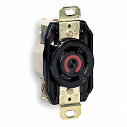 Receptacle, Single, 30 A, L14-30