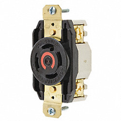Receptacle, Single, 30 A, L16-30