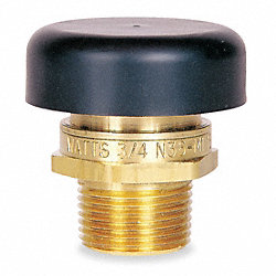 Vacuum Relief Valve, 1/2 In, Brass