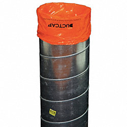 reusable poly cover, ducts w/elastic, PK25