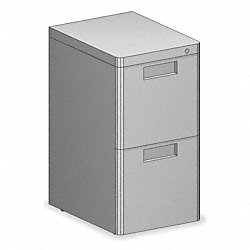 Mobile Box File, 2 File, Gray