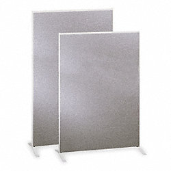 Panel, Melamine Core, 60x36 In, Gray
