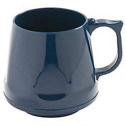 Mug, Insulated, Blue, PK 48