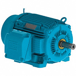 Motor, 3 Ph, 15 HP, 1765, 460V, 254T, Eff 92.4