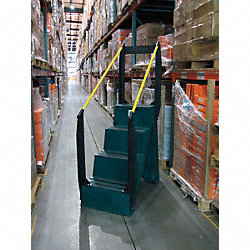 Step Stand, 66 In H, 500 lb., PCR