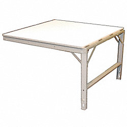 Production Table, Add-On, Laminate, 48x48