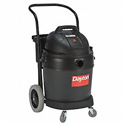 Comm. 16-Gal Poly Wet/Dry Vac w/Dolly
