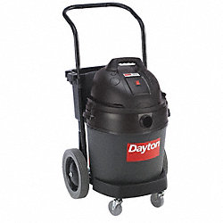 Comm. 12-Gal Poly Wet/Dry Vac w/Dolly