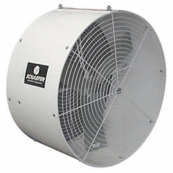 Air Circulator, 36 In, 11, 469 cfm, 240V