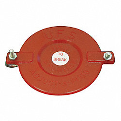 Fire Hose Cap, 2-1/2 In.Non-Threaded