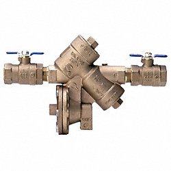 Backflow Preventer, Size 3/4 In, Bronze