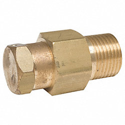 Vac Breaker, Atmospheric, 1/2In MNPT, Brass