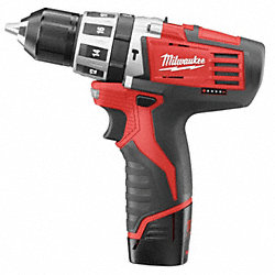 Hammer Drill/Driver Kit, 7-3/5 In. L