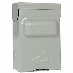 Switch, AC Disconnect, NonFusible, 240V, 60A
