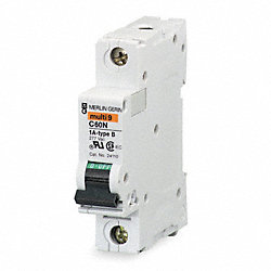 Circuit Breaker, C Curve, 1 Pole, 16A