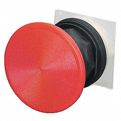 Pushbutton, Red, 30 Mm