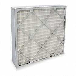 Economy Minipleat Air Filter, Paper Frame