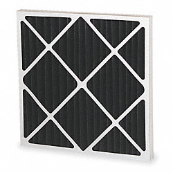 Carbon Impregnated Filter, 20x20x1