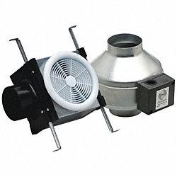 Fantech Exhaust Fan Kit 4 In Dia Inline Duct Fans