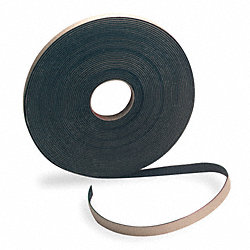 Air Filter Gasketing, 50 Ft. L, Black