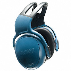 Ear Muff, 25dB, Headband, Blue