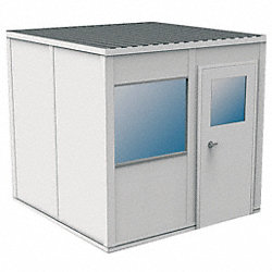 Modular InPlant Office, 3Wall, 8x8, Vinyl