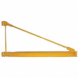 Jib Crane, Mntd, Top Support, 2200Lb, 8Ft.