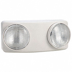 Emergency Light, 5.4W, 4In H, 5-1/2In L