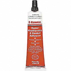 Adhesive, Black, 5 oz, PK 6