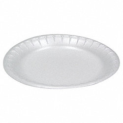 Disposable Plate, 8 7/8 In, PK 500