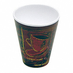 Disposable Hot Cup, 12 Oz, PK 840