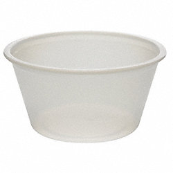 Disposable Portion Cup, Clr, PK2400