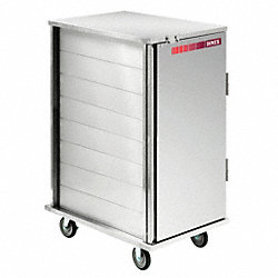 Tray Delivery Cart, Enclosed, 12 Trays