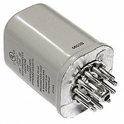 Relay, Hermetic, 11 Pin, 3PDT, 12A, 120VAC