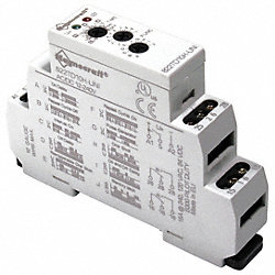 Relay, Time Delay, DPDT, Multifunction