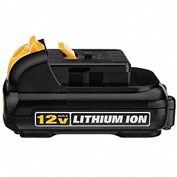 Battery Pack, 12V, Li-Ion, 1.5A/hr.