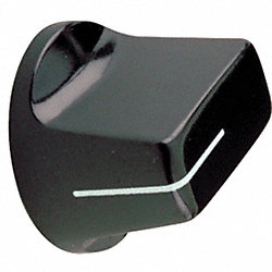 Pointer Knob, 3/4, 1/4X13/32 PH, 8-32 SS
