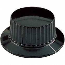 Skirted Knob, 1-1/2, 1/4X9/16 BB, 8-32 SS