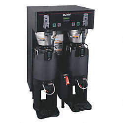 Dual Coffee Brewer, Black