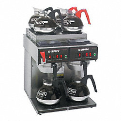 Coffee Brewer, 6 Warmers
