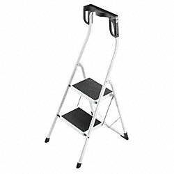 Platform Stepladder, 11-7/8 In. W, Steel
