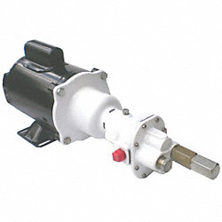 Hot Oil Cooking Pump, 1/2 HP, 115/230V