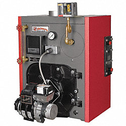 Atmospheric Vent Steam Boiler, Oil