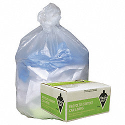 Coreless Roll Liner, 7 to 10 Gal., PK1000