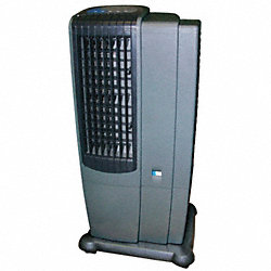 Prtbl Evaporative Cooler, 650 cfm, 3/4 HP